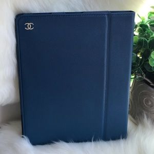 AUTHENTIC CHANEL iPad Air Leather Case ✨ NEW ✨